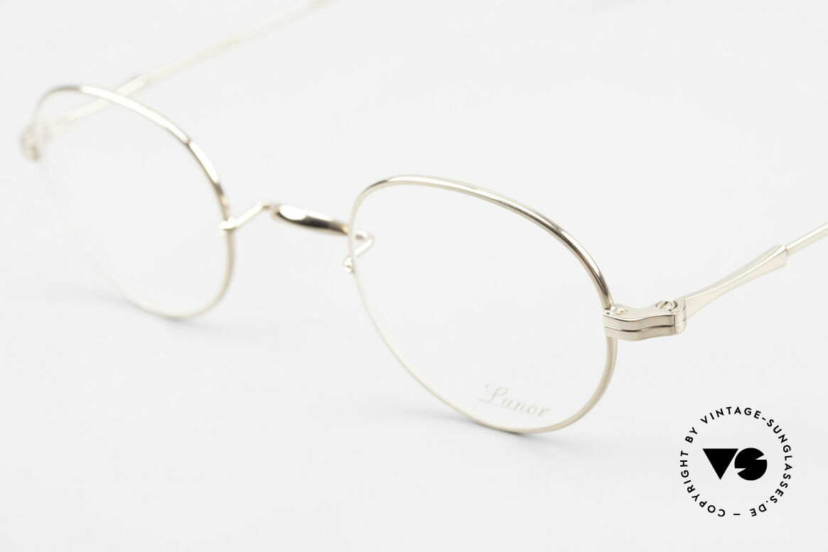 Lunor II 22 Lunor Eyeglasses Gold Plated, noble, classy, timeless = a genuine LUNOR ORIGINAL, Made for Men and Women