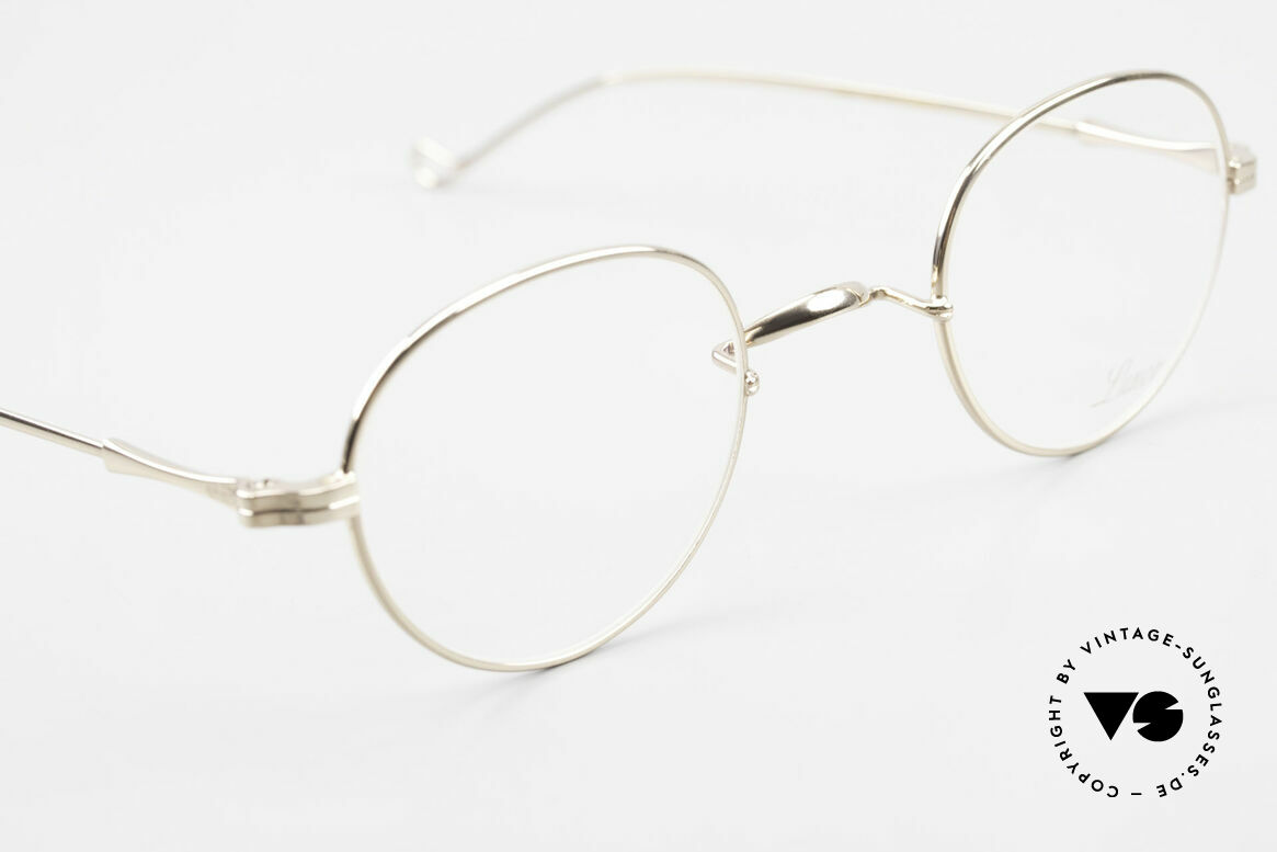Lunor II 22 Lunor Eyeglasses Gold Plated, unworn RARITY for all lovers of quality from app. 1998, Made for Men and Women