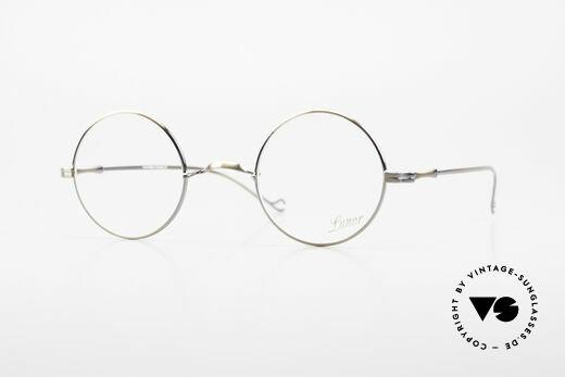 Lunor II 23 Round Lunor Eyeglass-Frame Details