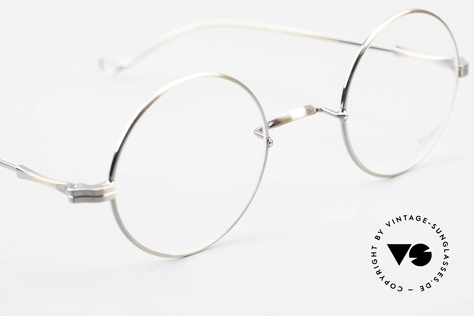 Lunor II 23 Round Lunor Eyeglass-Frame, a timeless, unworn RARITY for all lovers of quality, Made for Men and Women
