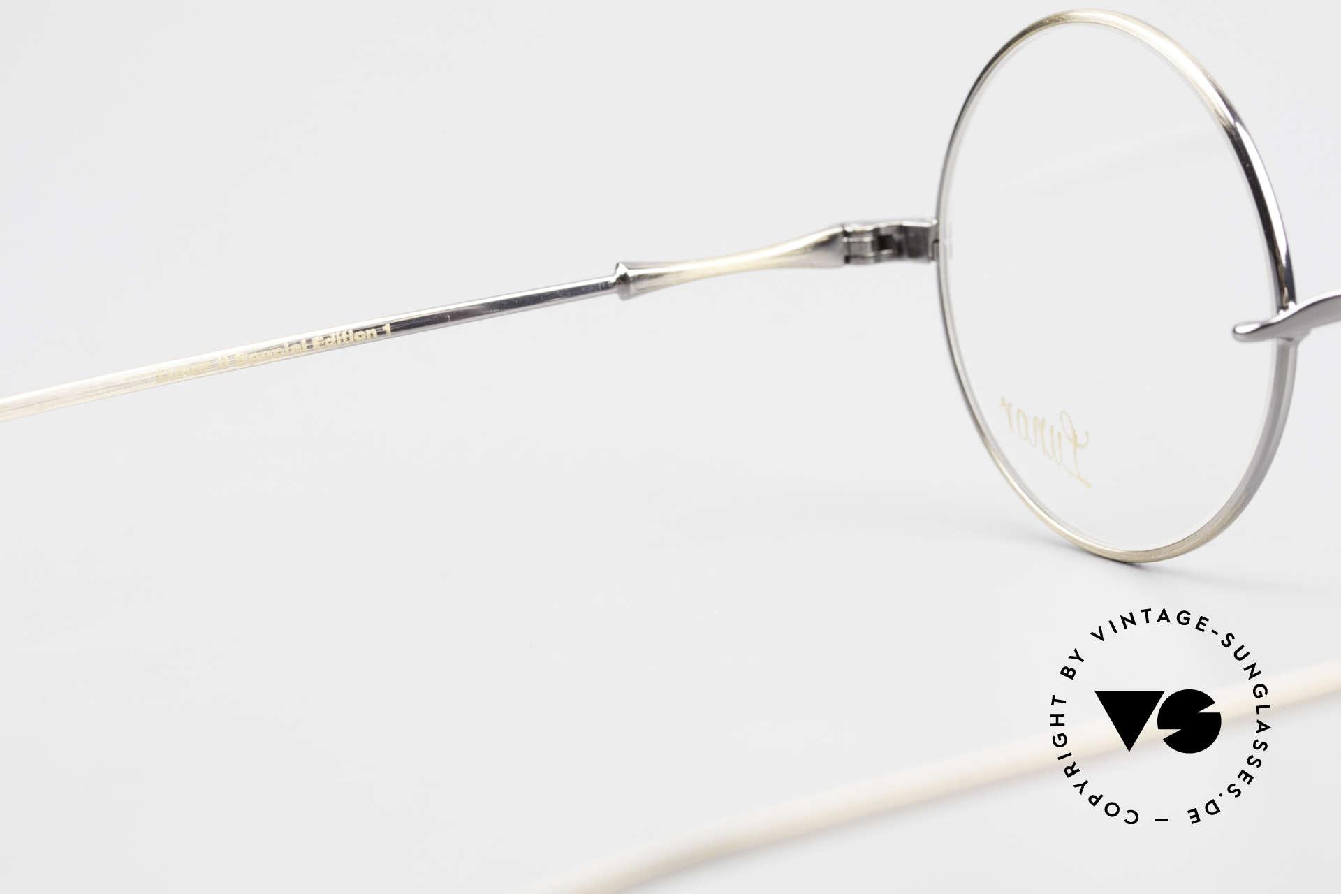 Lunor II 23 Round Lunor Eyeglass-Frame, Size: medium, Made for Men and Women