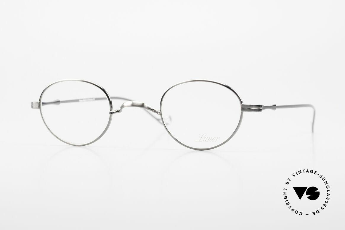 "Lunor II 20 Lunor Eyeglasses Unisex Small, vintage Lunor eyeglasses of the old ""LUNOR II"" series, Made for Men and Women"