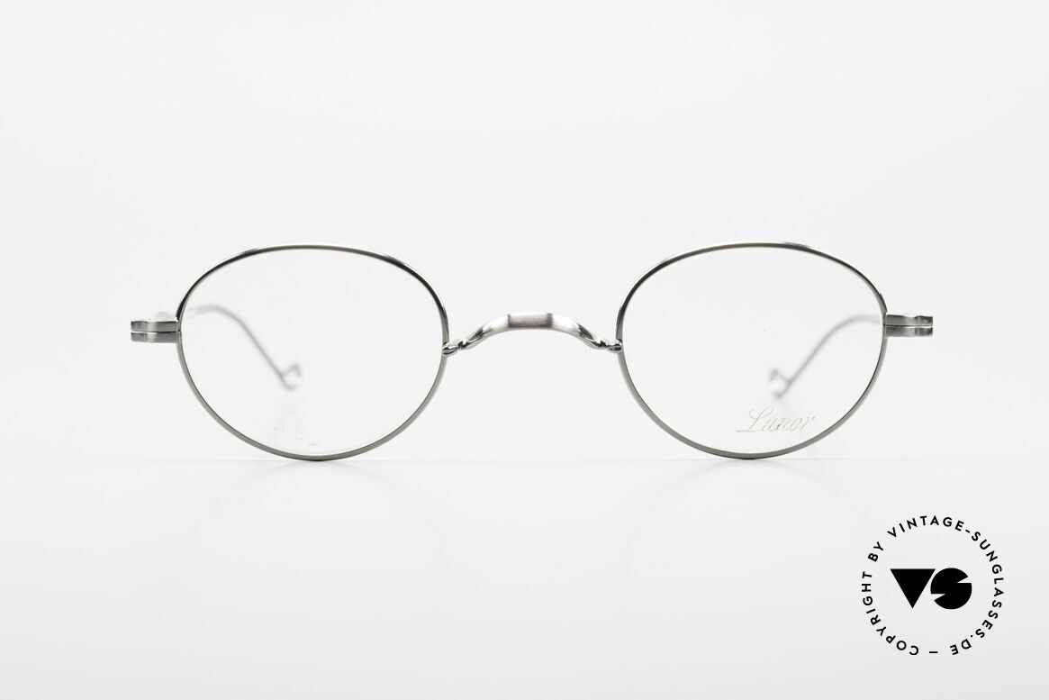 Lunor II 20 Lunor Eyeglasses Unisex Small, full rim metal frame coated with a protection lacquer, Made for Men and Women
