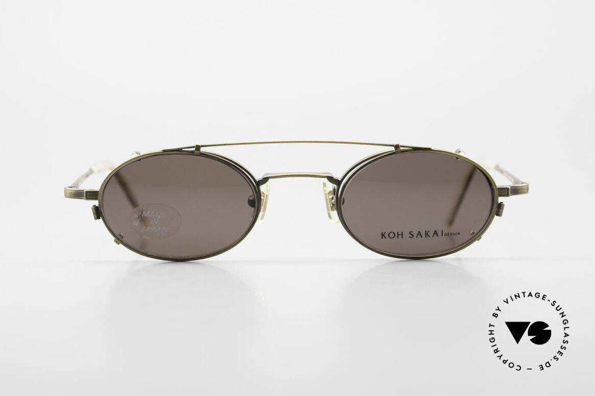 Koh Sakai KS9701 Vintage Metal Frame Clip On, Koh Sakai, BADA and OKIO have been one distribution, Made for Men and Women
