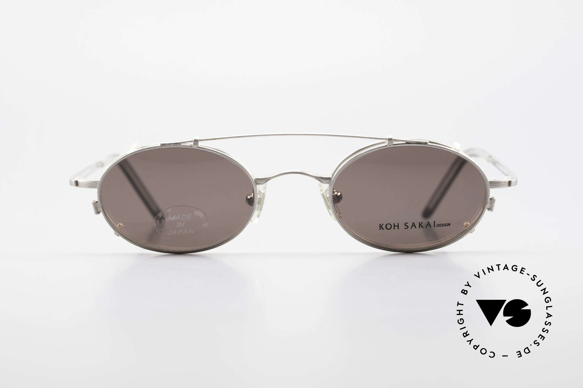 Koh Sakai KS9781 Vintage Metal Glasses Clip On, Koh Sakai, BADA and OKIO have been one distribution, Made for Men and Women