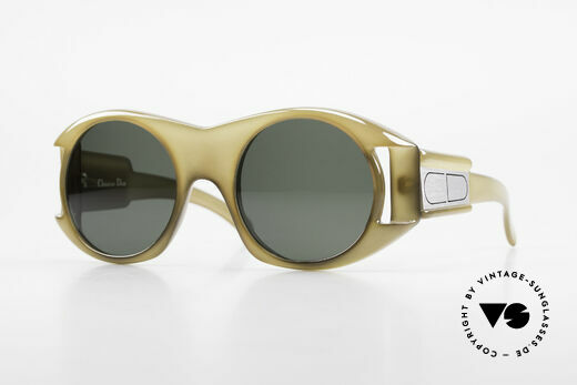 Christian Dior C61 Rare Old 70's Optyl Sunglasses Details
