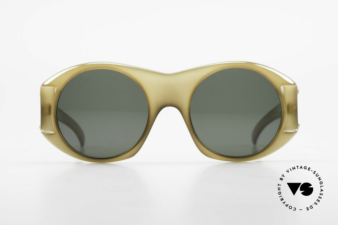 Christian Dior C61 Rare Old 70's Optyl Sunglasses, one of the first sunglass' models by Christian Dior, ever, Made for Men and Women