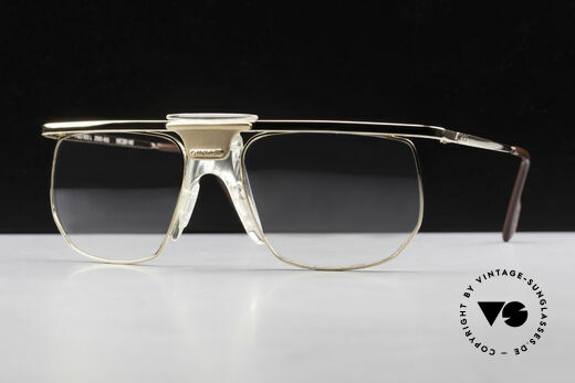 Alpina PSO 905 Vintage Glasses Saddle Bridge Details