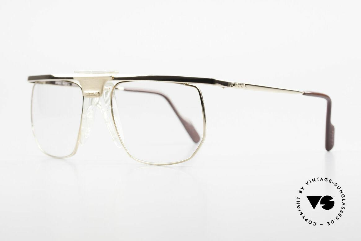 Alpina PSO 905 Vintage Glasses Saddle Bridge, NO retro eyewear, but original 90's commodity, Made for Men