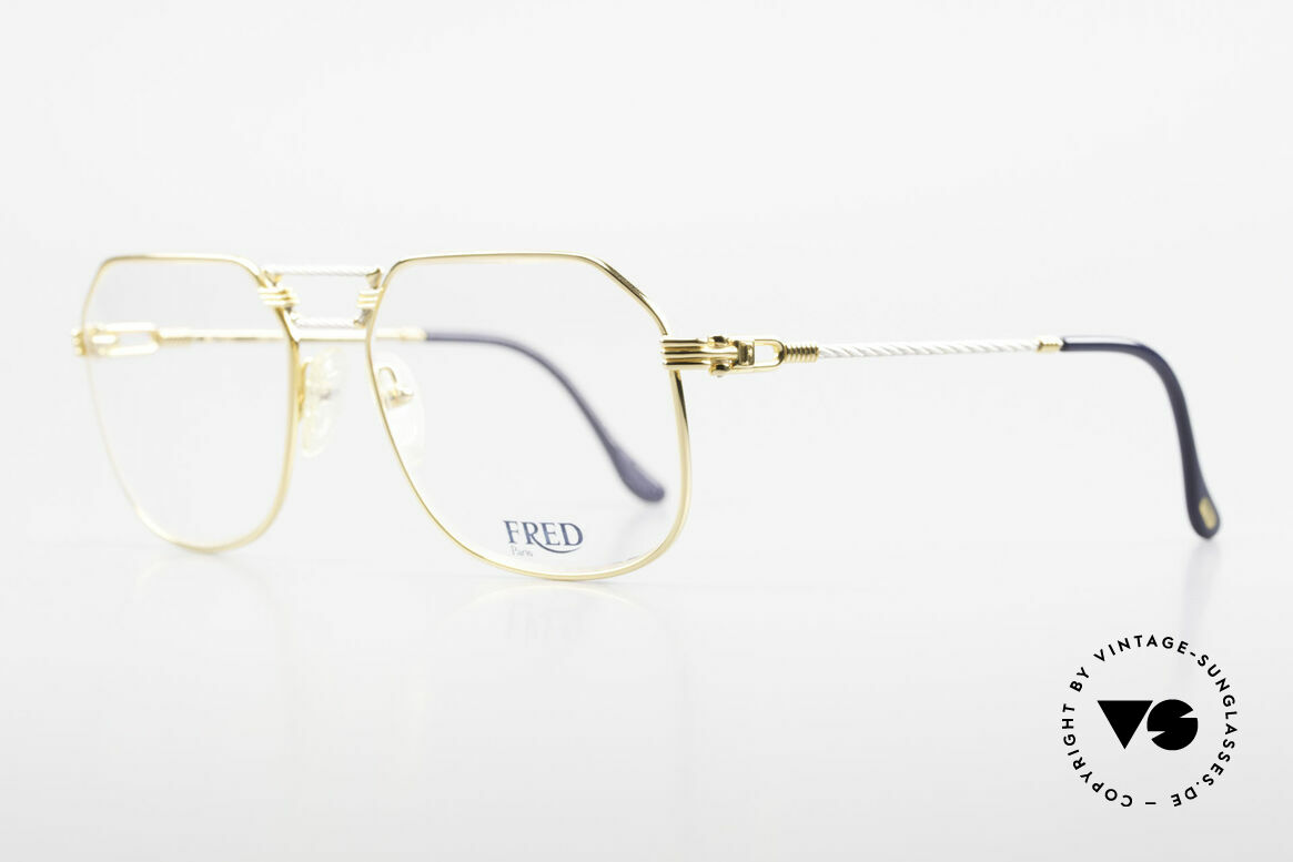 Fred Cap Horn - L Rare Luxury Eyeglasses 80's, Cap Horn: the southernmost headland of South America, Made for Men