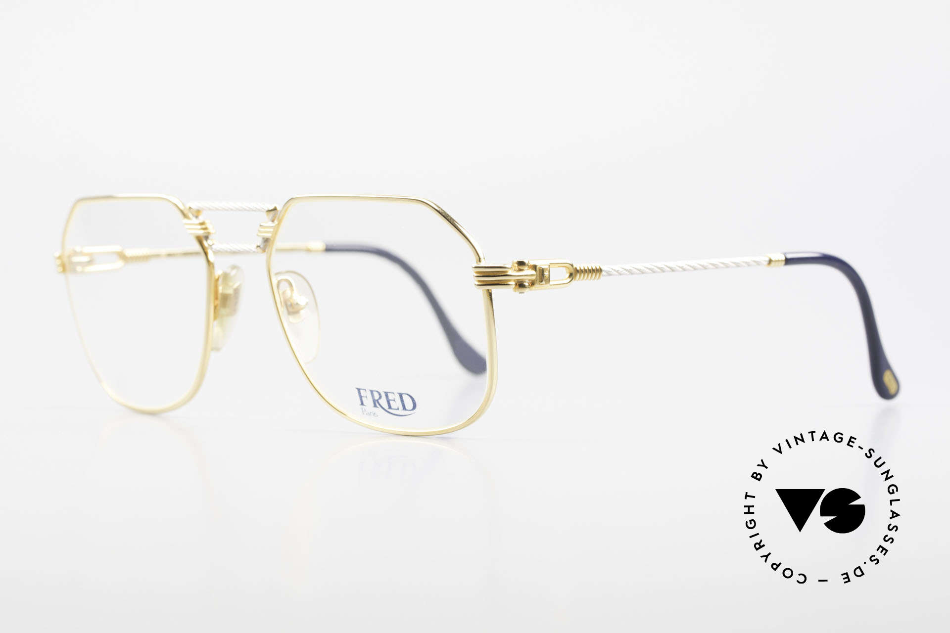 Fred Cap Horn - M Rare 80's Luxury Eyeglasses, Cap Horn: the southernmost headland of South America, Made for Men