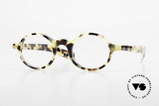 Lunor A52 Oval Lunor Glasses Acetate Details