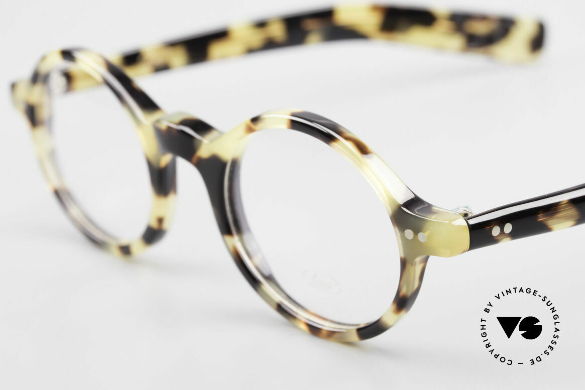 Lunor A52 Oval Lunor Glasses Acetate, 100% made in Germany, hand-polished, a true CLASSIC, Made for Men and Women