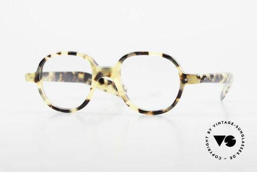 Lunor A50 Round Lunor Glasses Acetate Details
