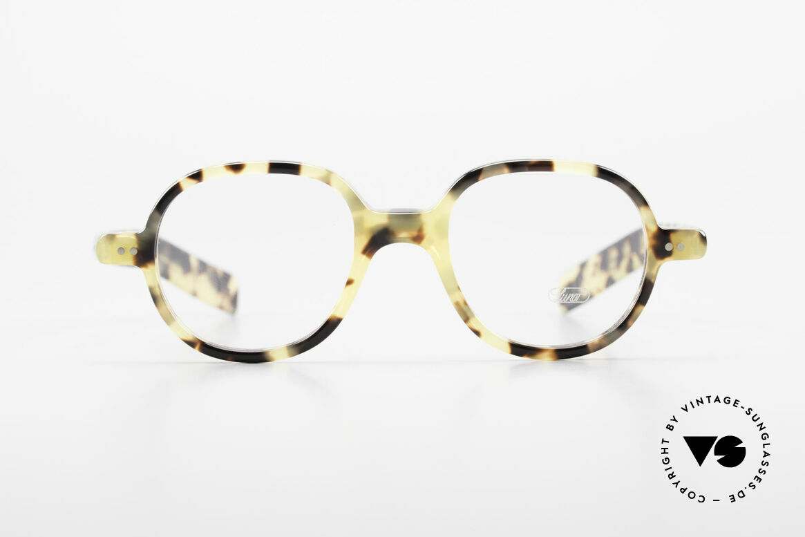 Lunor A50 Round Lunor Glasses Acetate, riveted hinges; cut precise to the tenth of a millimeter, Made for Men and Women