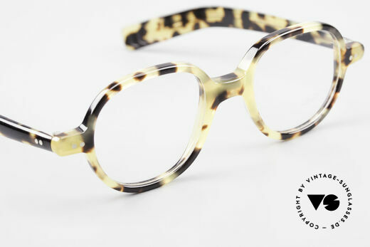 Lunor A50 Round Lunor Glasses Acetate, the demo lenses can be replaced with optical (sun) lenses, Made for Men and Women