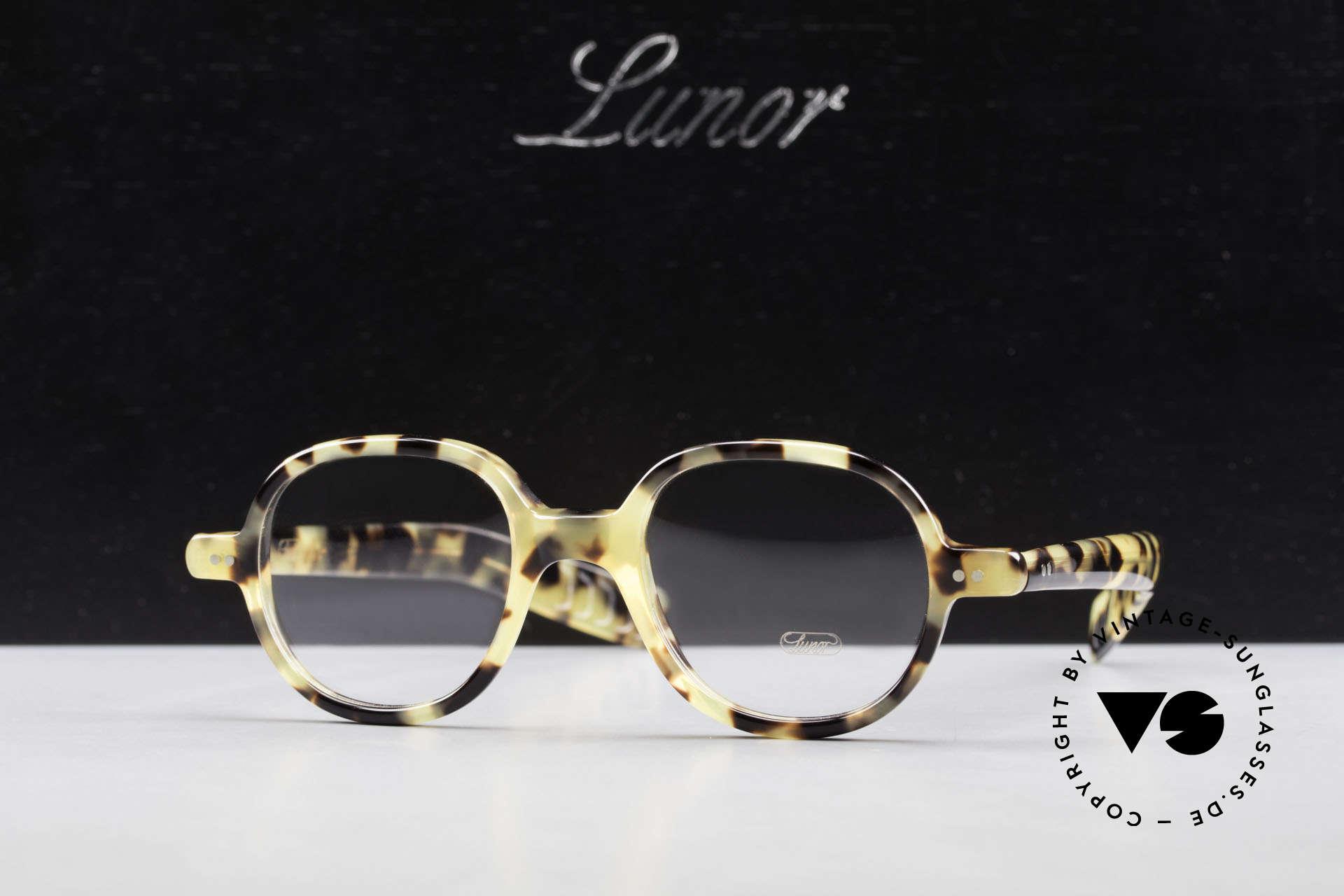 Lunor A50 Round Lunor Glasses Acetate, Size: medium, Made for Men and Women