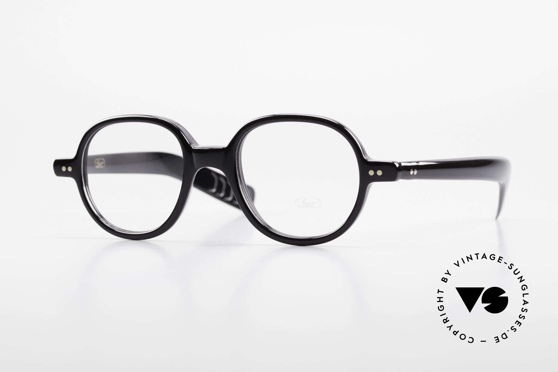 Lunor A50 Round Lunor Acetate Glasses, LUNOR glasses, model 50 from the Acetate collection, Made for Men and Women