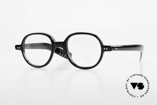 Lunor A50 Round Lunor Acetate Glasses Details