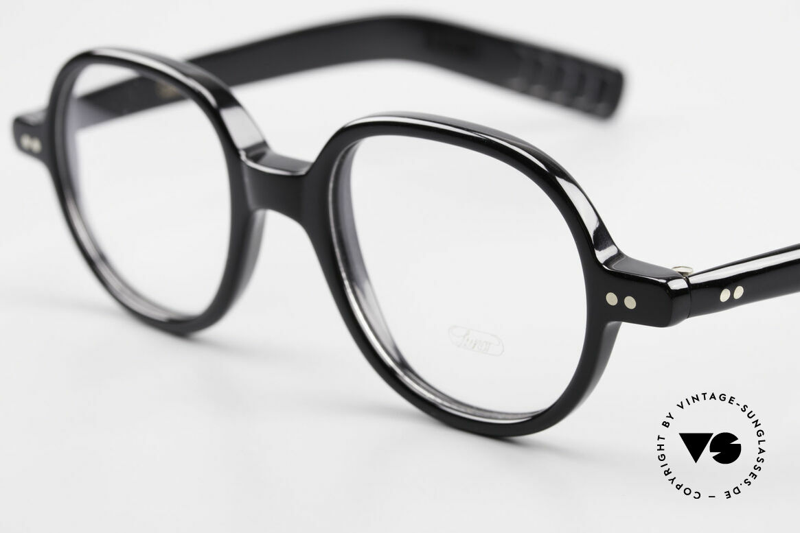 Lunor A50 Round Lunor Acetate Glasses, 100% made in Germany, hand-polished, a true CLASSIC, Made for Men and Women