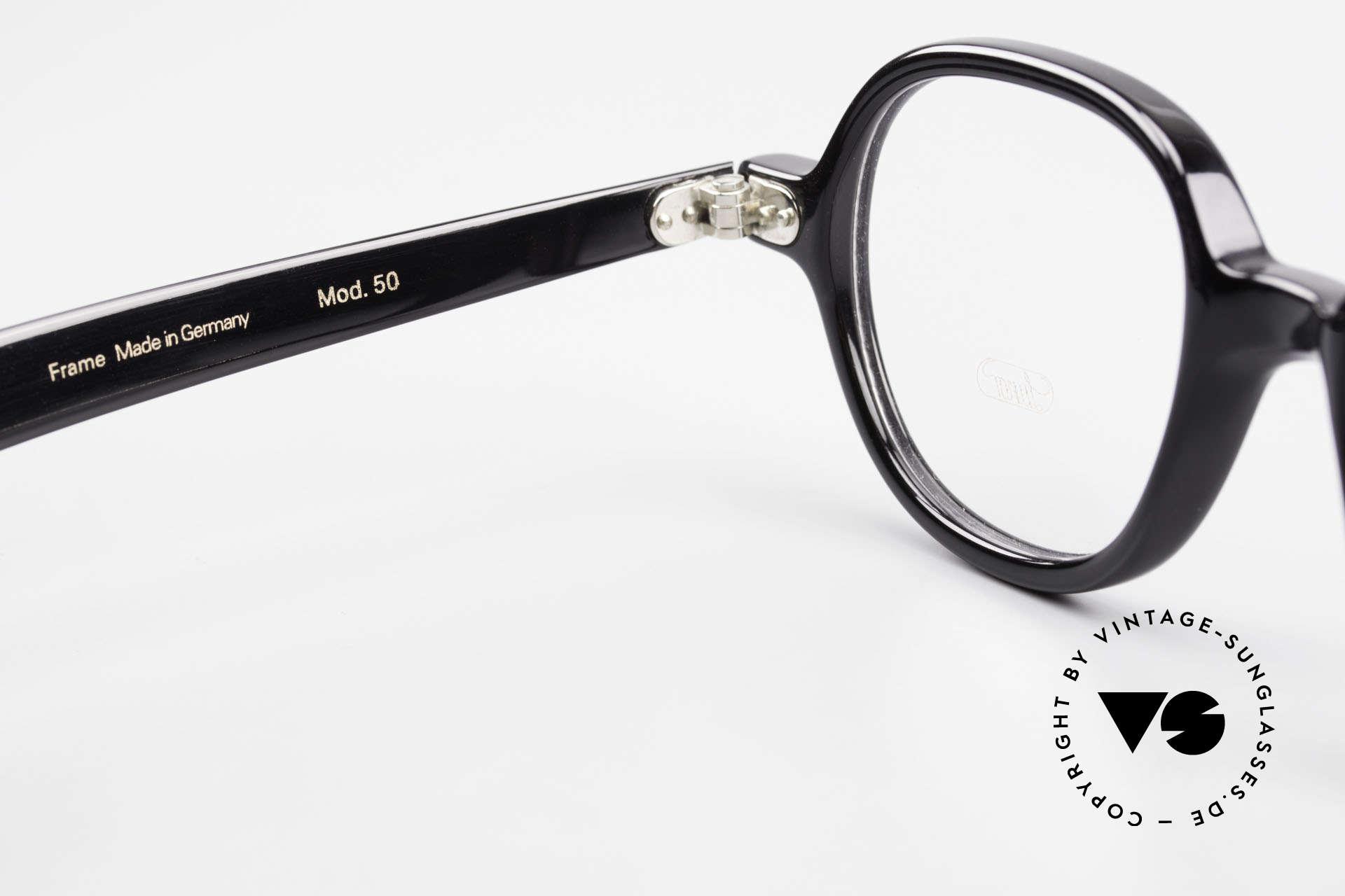 Lunor A50 Round Lunor Acetate Glasses, Size: medium, Made for Men and Women