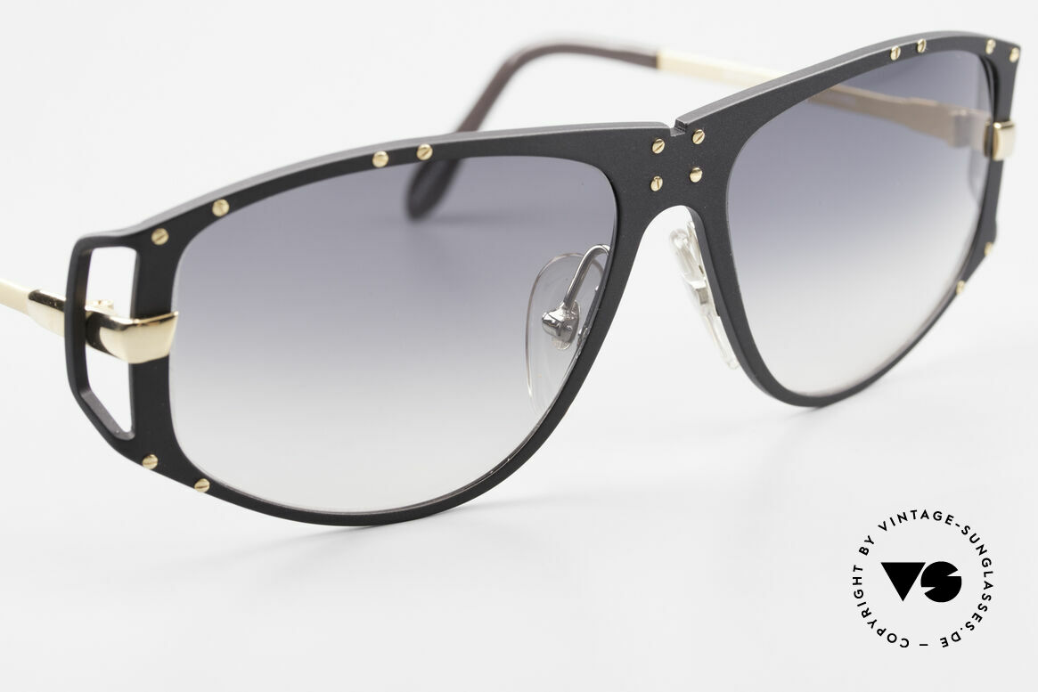 Alpina A51 Ultra Rare 90's XL Sunglasses, unworn (top notch quality, 24ct gold-plated metal), Made for Men and Women