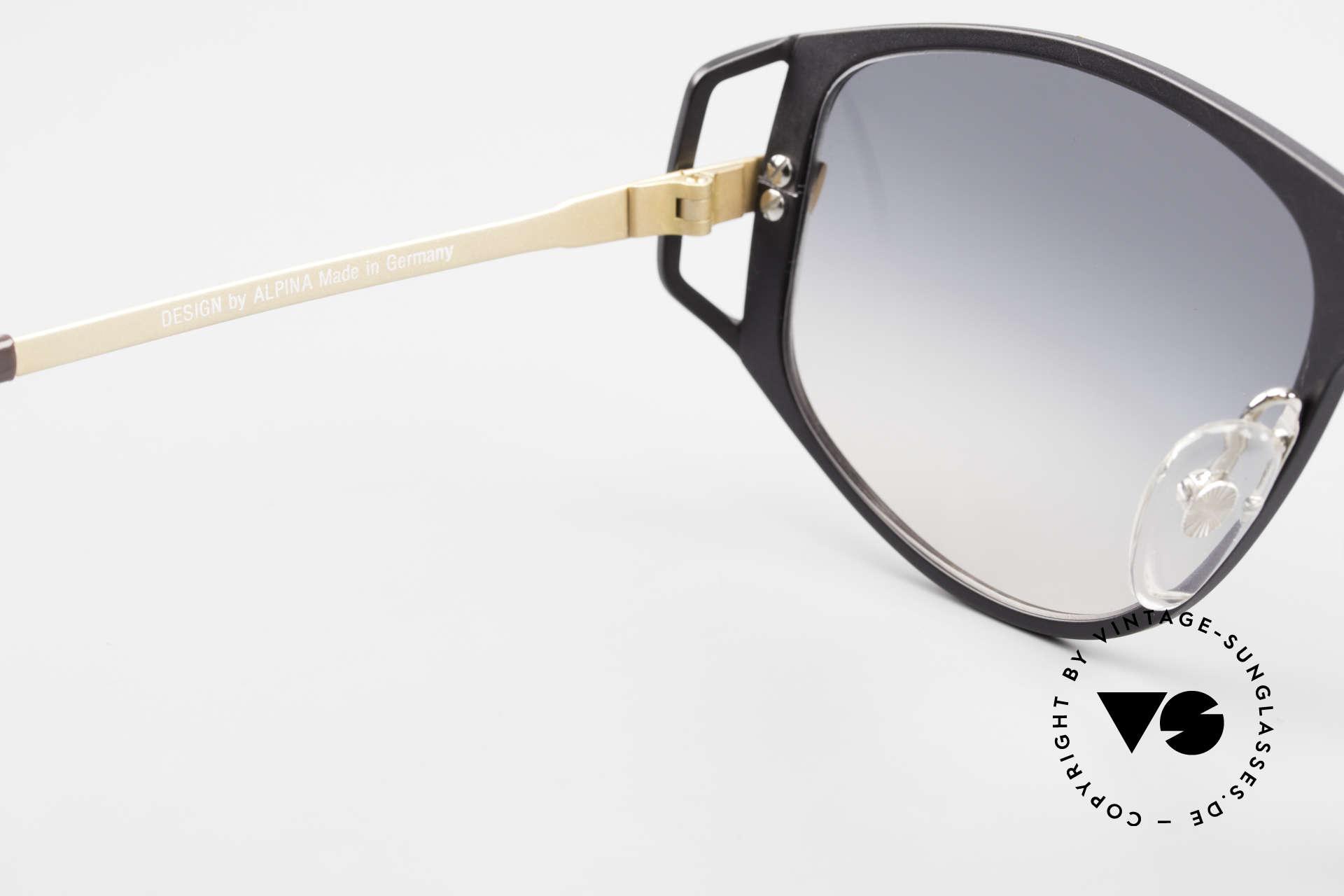 Alpina A51 Ultra Rare 90's XL Sunglasses, NO RETRO fashion; but a rare old original from '91, Made for Men and Women