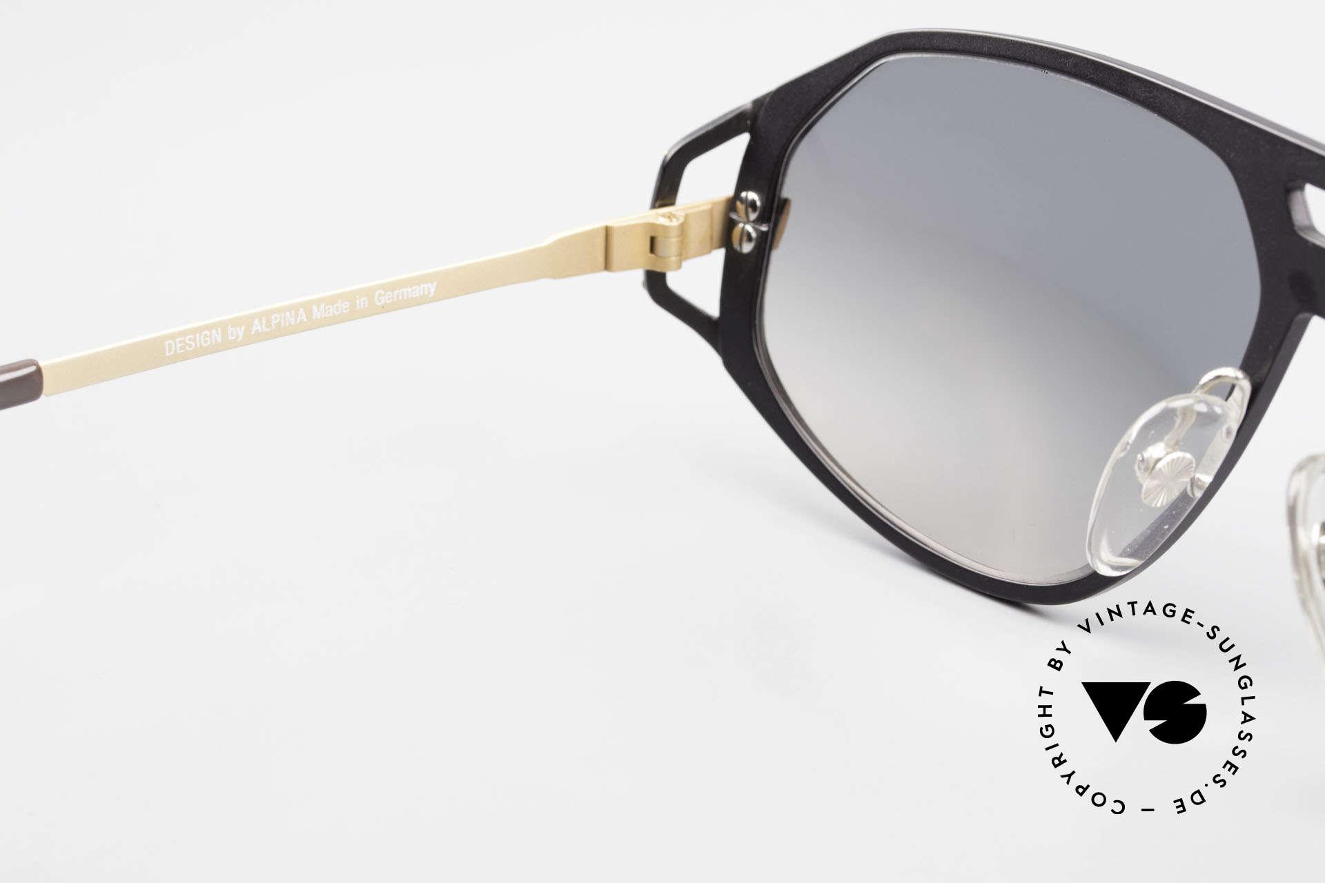 Alpina A50 Ultra Rare 1990's Sunglasses, NO RETRO fashion; but a rare old original from '91, Made for Men