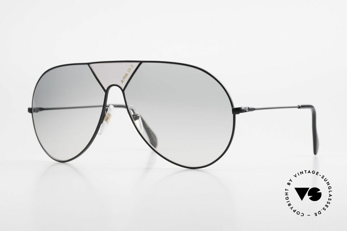 Alpina TR3 80's Sunglasses Limited Edition, Limited Edition of the 80's Alpina TR3 sunglasses, Made for Men