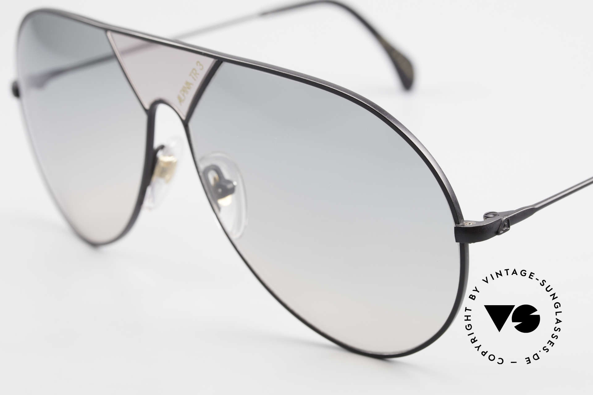 Alpina TR3 80's Sunglasses Limited Edition, Original from 1986 (W. Germany); 100% UV protect., Made for Men