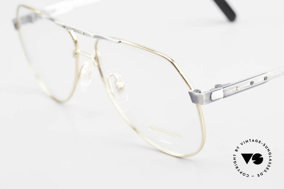 Alpina M1F770 Vintage Glasses Aviator Style, tangible premium craftsmanship (made in Germany), Made for Men