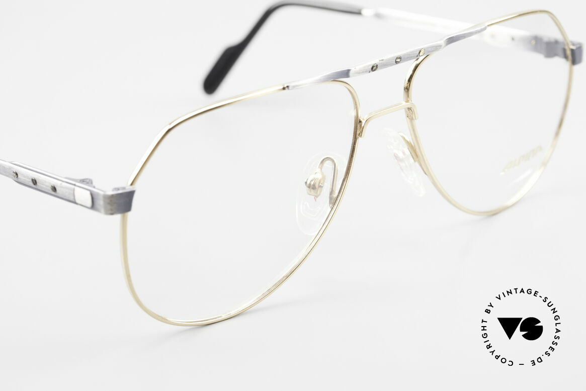 Alpina M1F770 Vintage Glasses Aviator Style, never worn (like all our rare vintage Alpina eyewear), Made for Men