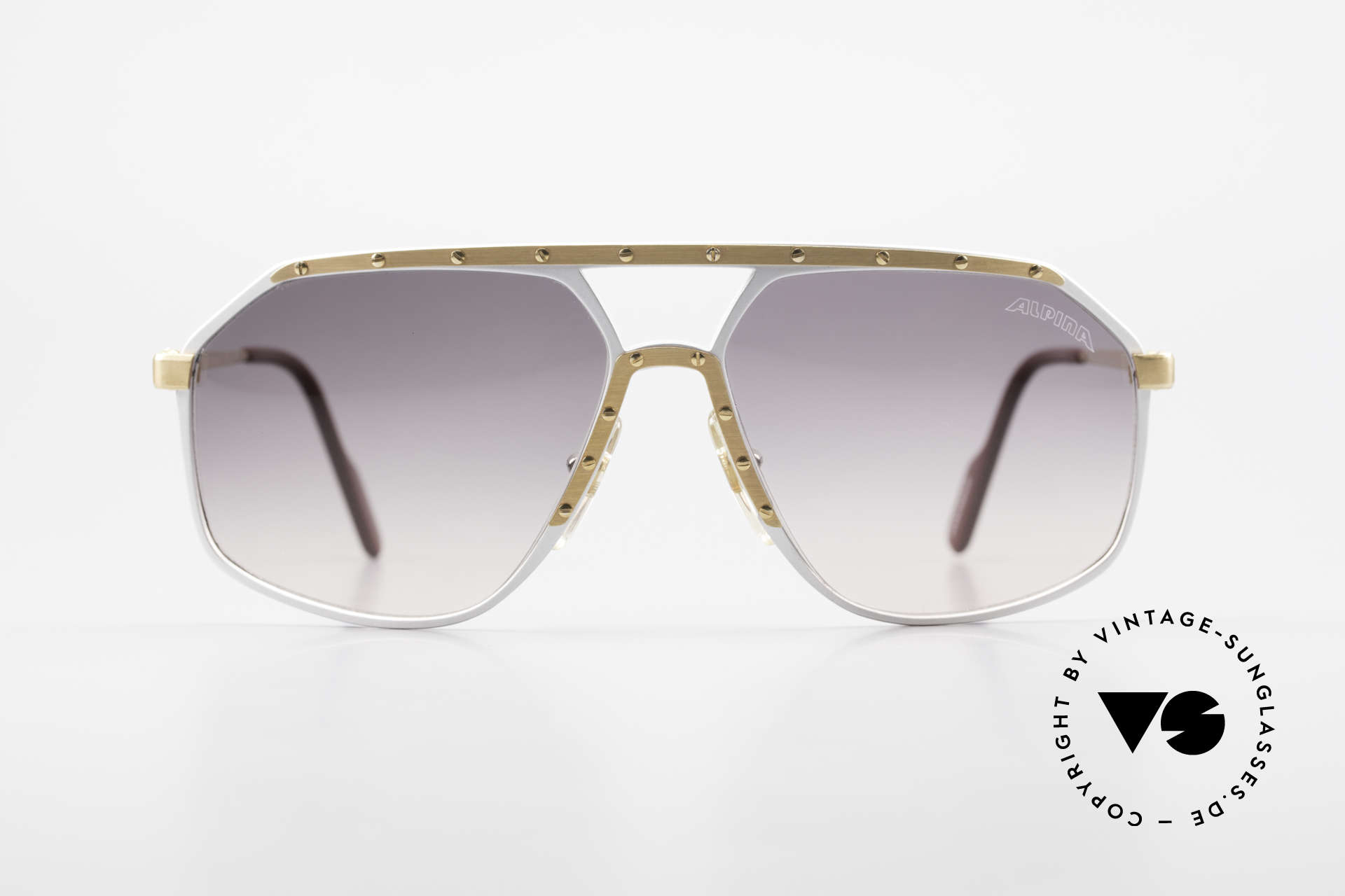 Alpina M6 Vintage Glasses Par Excellence, made from 1987 to 1991 (West Germany sunglasses), Made for Men and Women