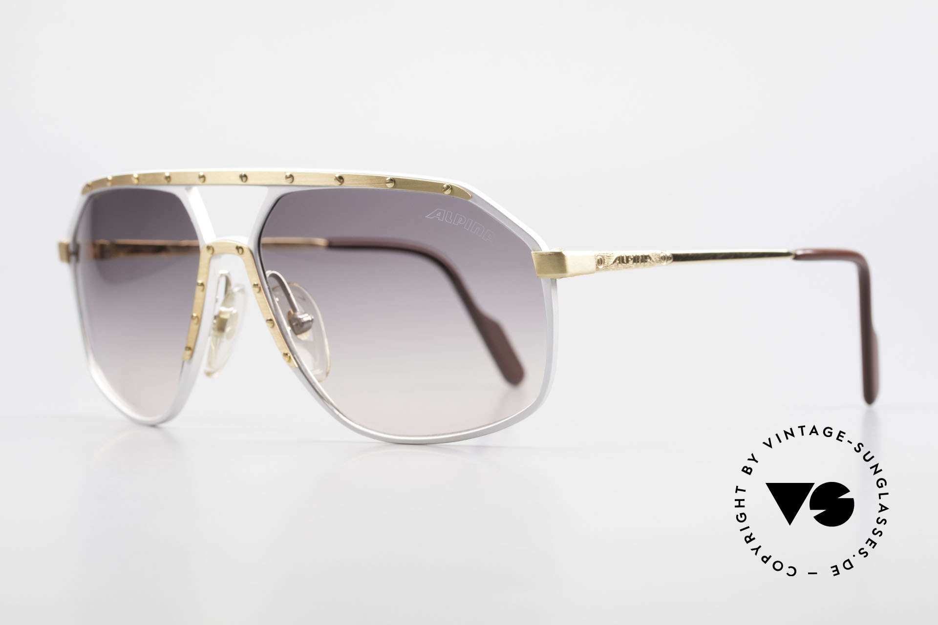 Alpina M6 Vintage Glasses Par Excellence, produced in many different variations; HANDMADE, Made for Men and Women