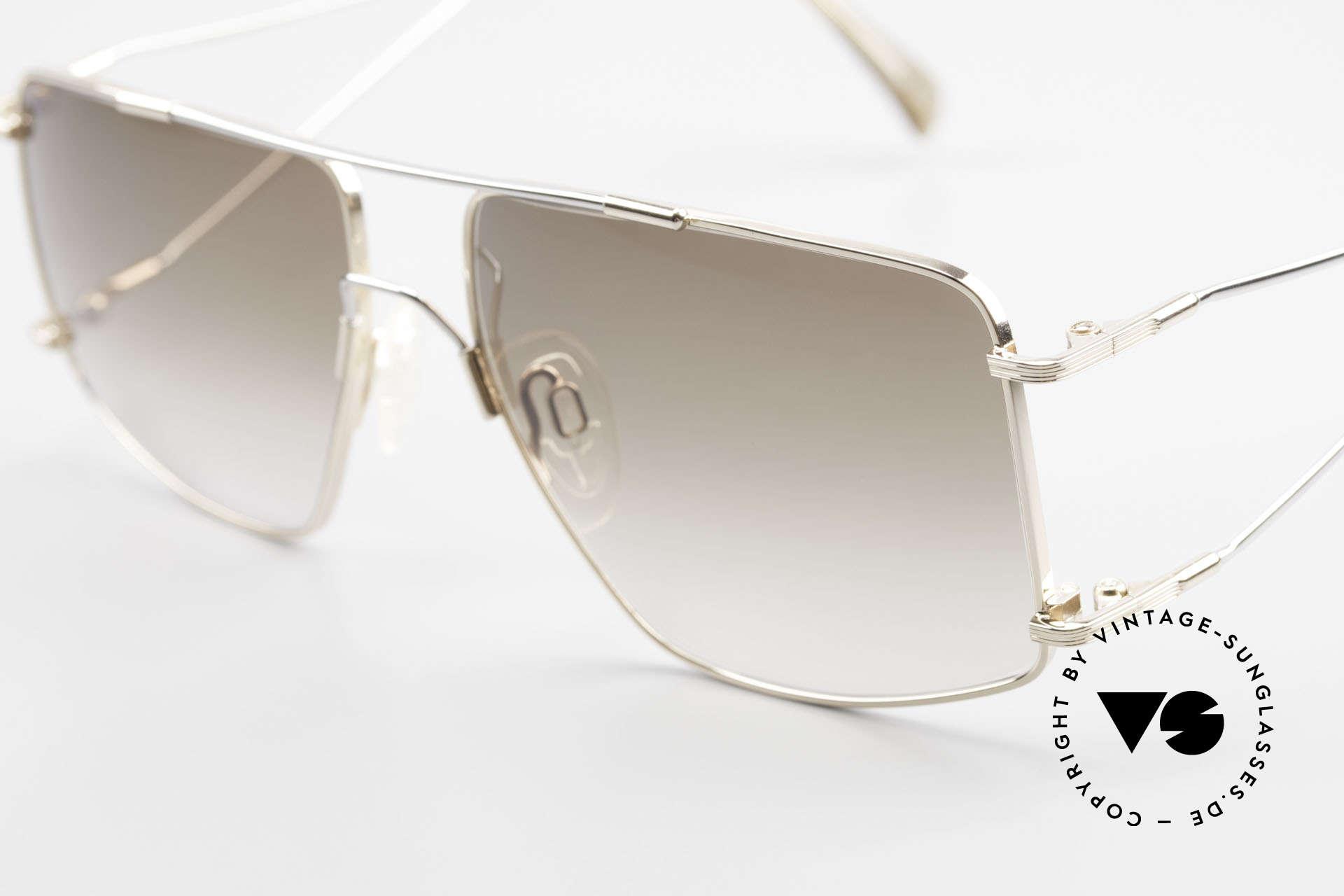Neostyle Jet 40 Titanflex Vintage Sunglasses, after deformation, the frame returns to orig. form!, Made for Men