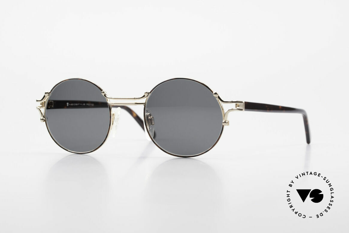 Neostyle Academic 8 Round Vintage Sunglasses 80's, vintage Neostyle shades Academic 8 Prestige, Made for Men and Women