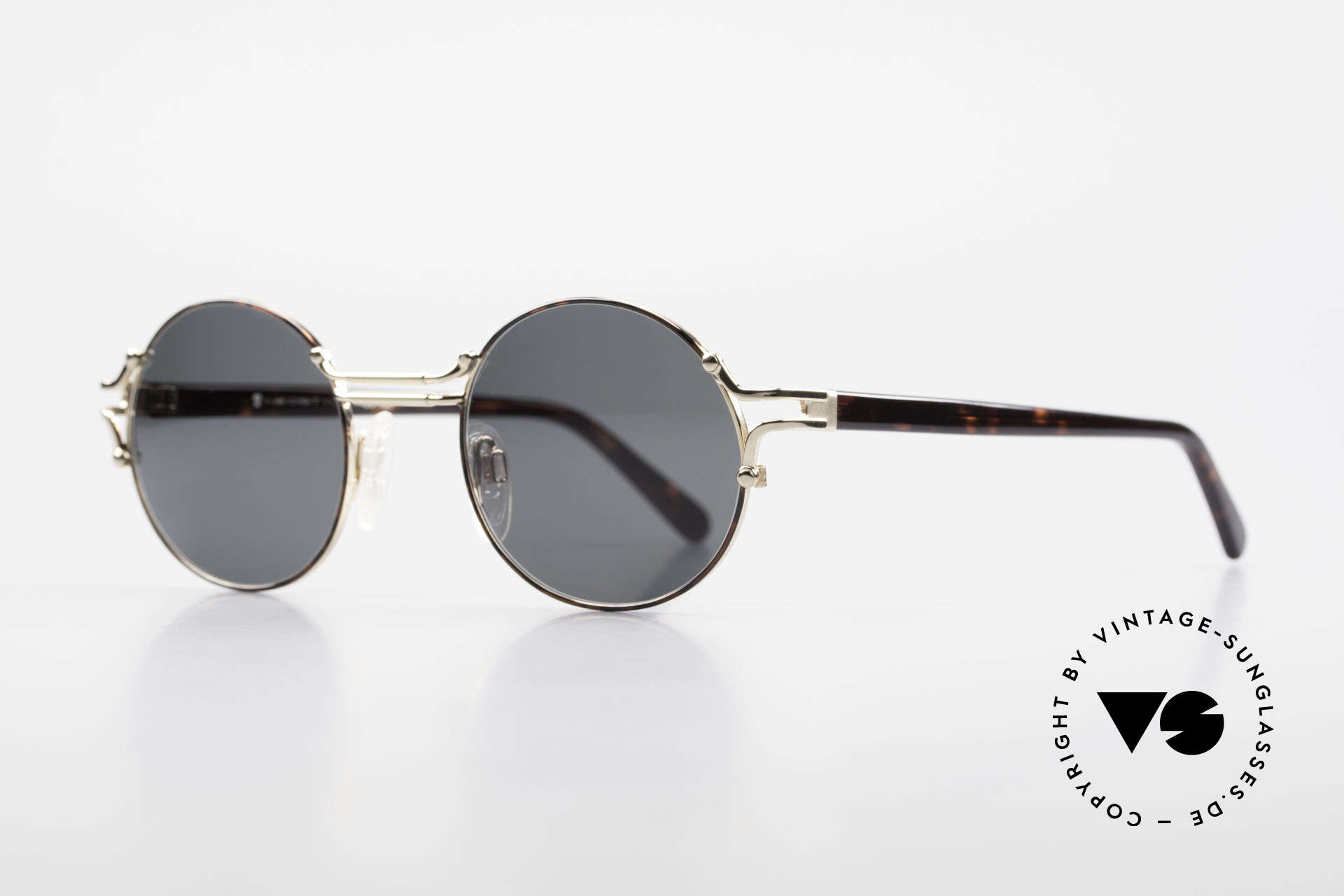 Neostyle Academic 8 Round Vintage Sunglasses 80's, truly high-end craftsmanship, made in Germany, Made for Men and Women