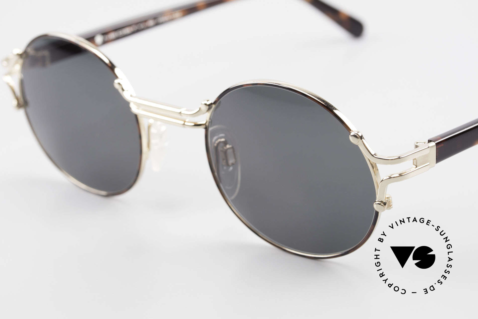 Neostyle Academic 8 Round Vintage Sunglasses 80's, elegant frame coloring and with orig. packing, Made for Men and Women