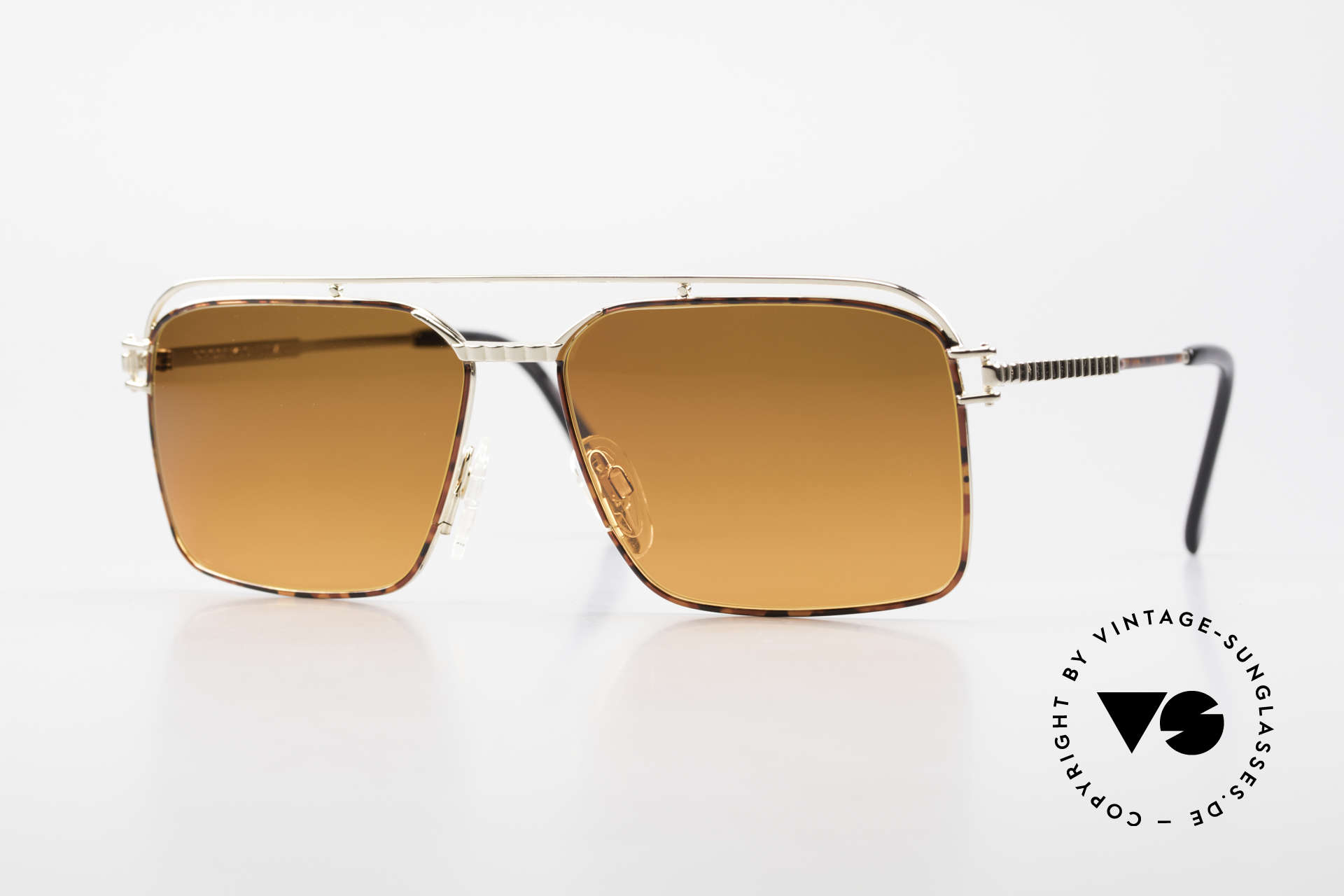 Neostyle Dynasty 424 - L 80's Titanium Men's Shades, 80's Neostyle Dynasty 424, size 58/16 sunglasses, Made for Men