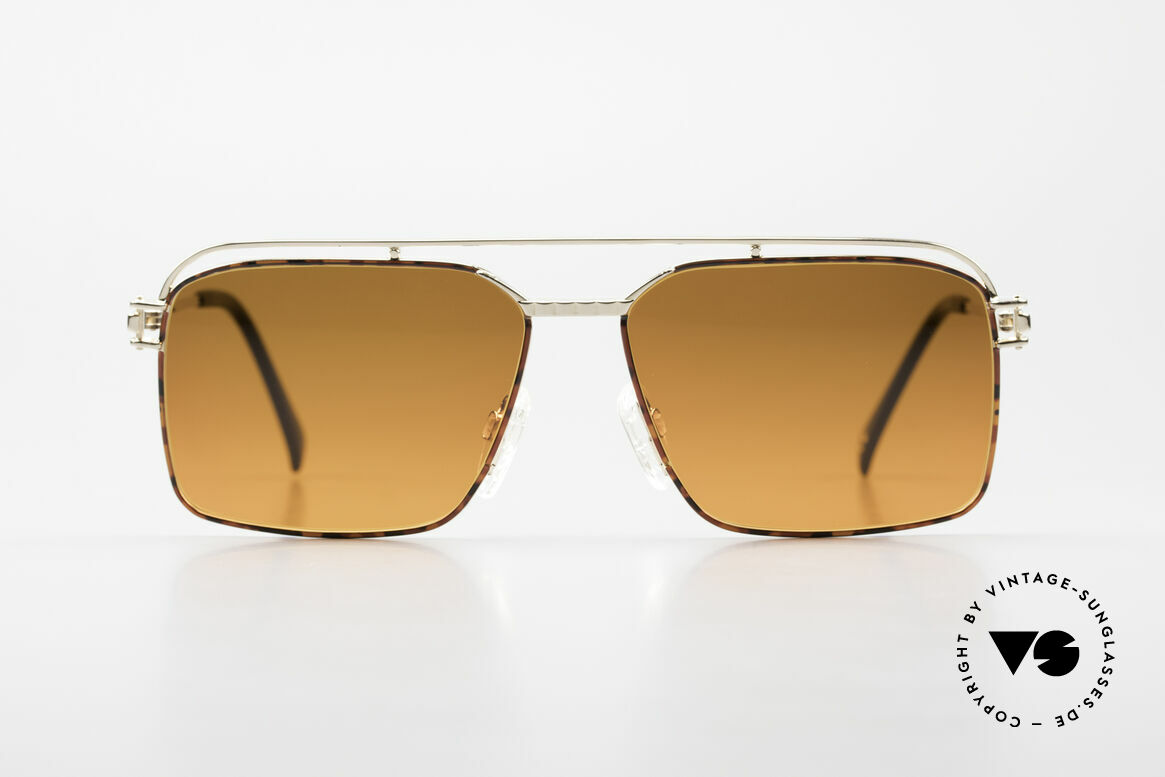 Neostyle Dynasty 424 - L 80's Titanium Men's Shades, top-notch craftsmanship (pure Titanium frame), Made for Men