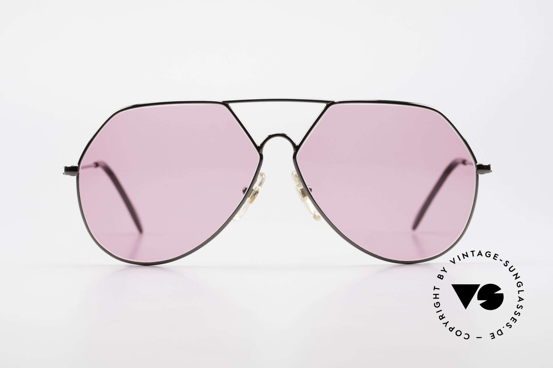 """Alpina TR6 Old 80's Aviator Frame Pink, a really different """"aviator"""" design; simply unique, Made for Men"""