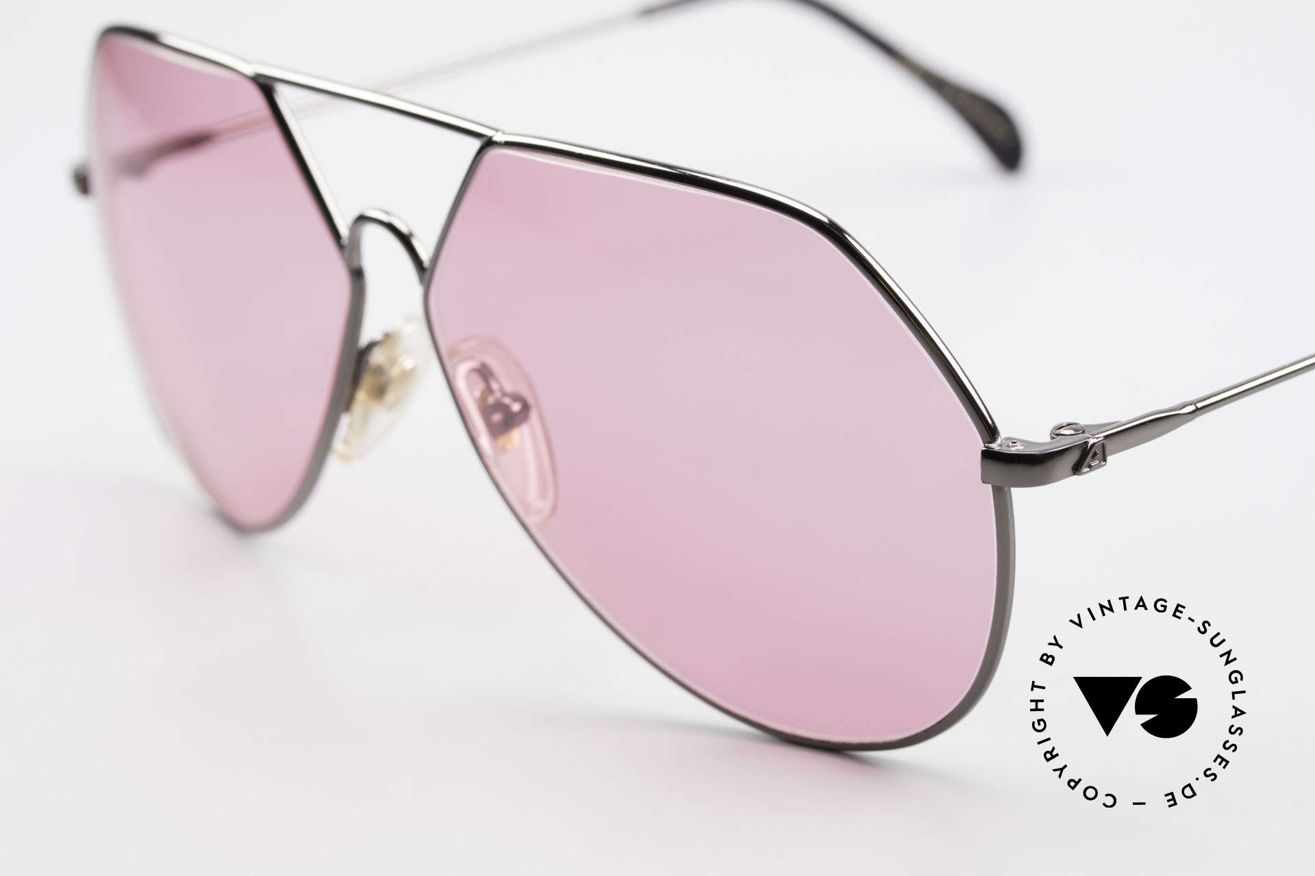 Alpina TR6 Old 80's Aviator Frame Pink, a fancy fashion accessory in TOP-NOTCH quality!, Made for Men