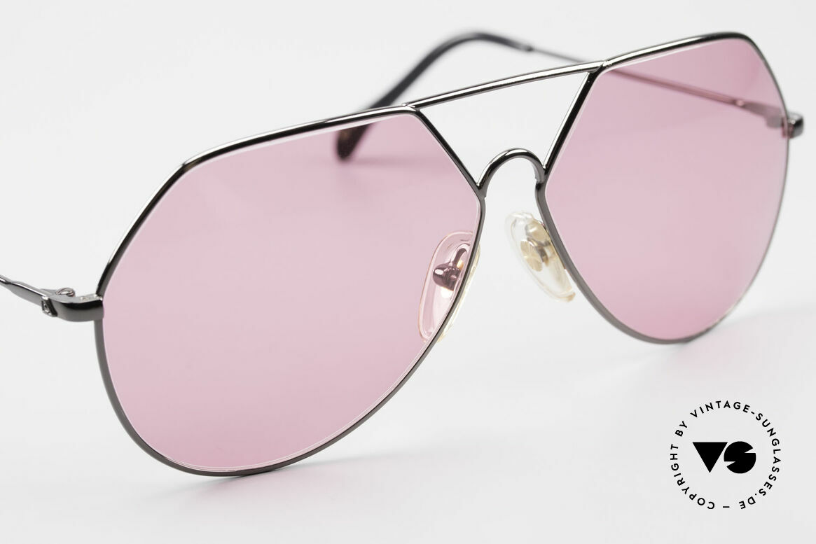 Alpina TR6 Old 80's Aviator Frame Pink, unworn rarity (like all our old glasses by Alpina), Made for Men