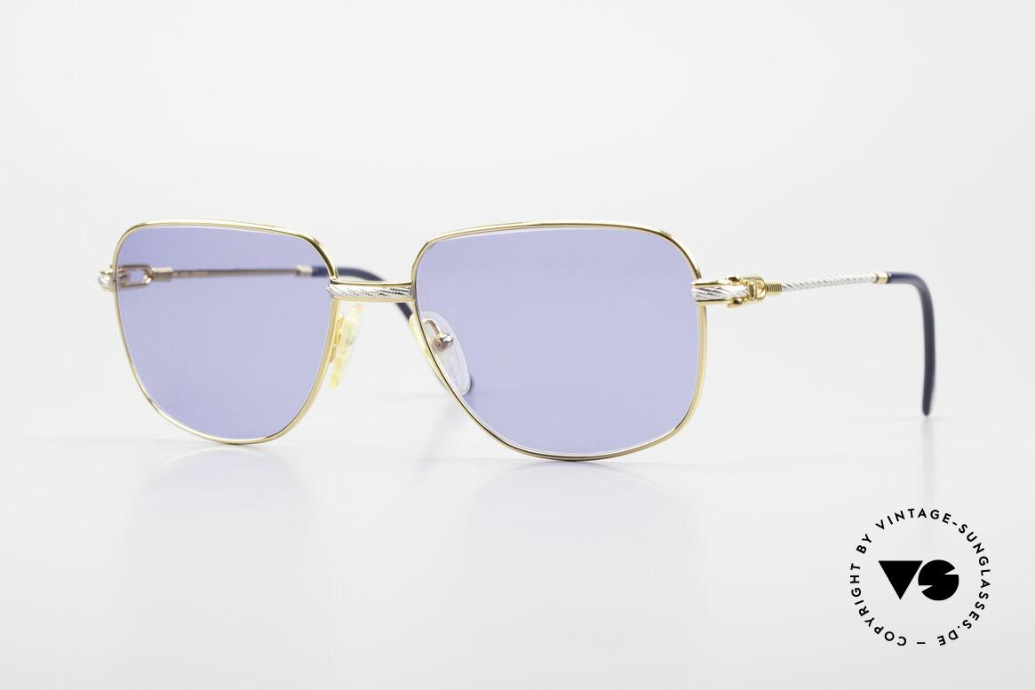 Fred Zephir Luxury Sailing Sunglasses Men, 1980's Fred Zephir Sailing sunglasses in LARGE size, Made for Men