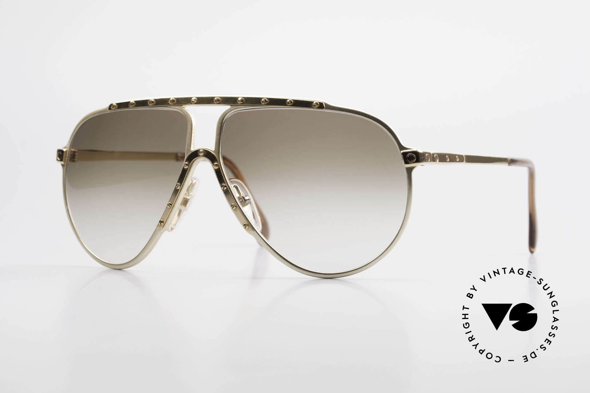 Alpina M1 Limited Edition 80's Version, legendary 80's Alpina M1 sunglasses in size 60-12, Made for Men and Women