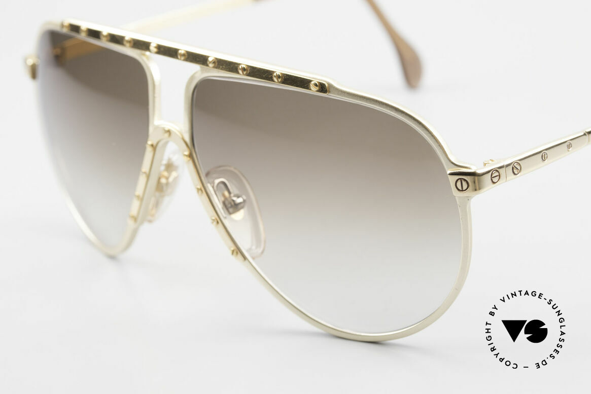 Alpina M1 Limited Edition 80's Version, ultra rare, GOLD-PLATED, handmade, iconic shades, Made for Men and Women