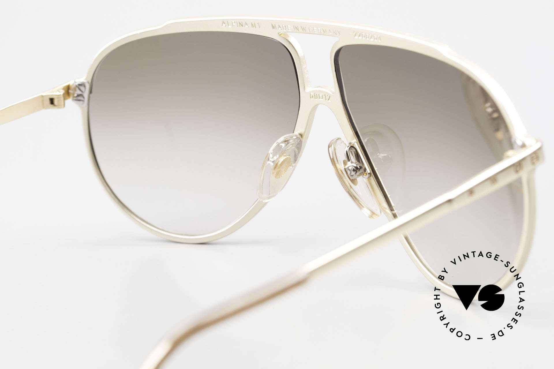 Alpina M1 Limited Edition 80's Version, NO RETRO sunglasses; the old ORIGINAL from 1987!, Made for Men and Women