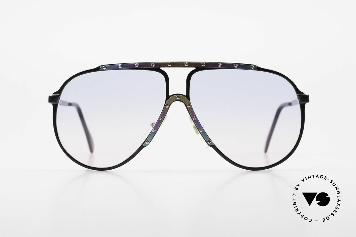 Alpina M1 Limited Titanium Edition 80's, iconic sunglasses and sought-after collector's item!, Made for Men and Women