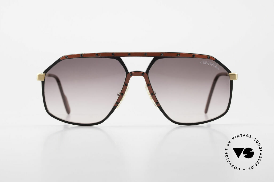 Alpina M6 Rare 80's Vintage Sunglasses, West Germany sunglasses: made from 1987 to 1991, Made for Men and Women