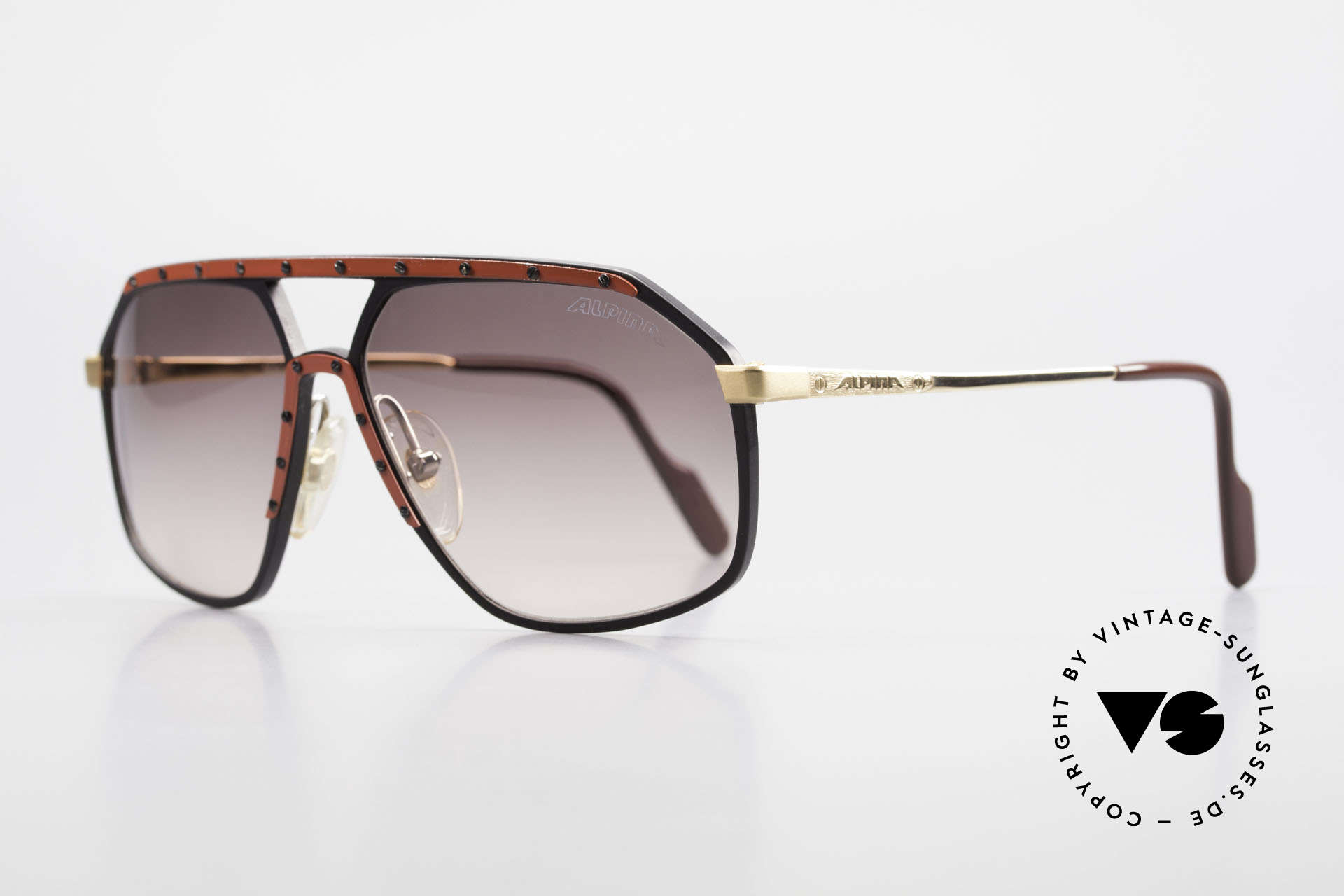 Alpina M6 Rare 80's Vintage Sunglasses, HANDMADE produced in many different variations, Made for Men and Women